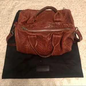 Alexander Wang Rocco bag in tobacco brown